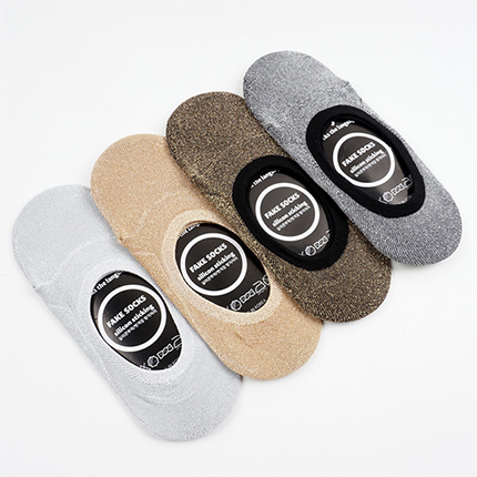 glitter fakesocks gray반짝이덧신